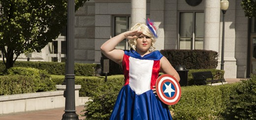 Julie Johnson's Captain America