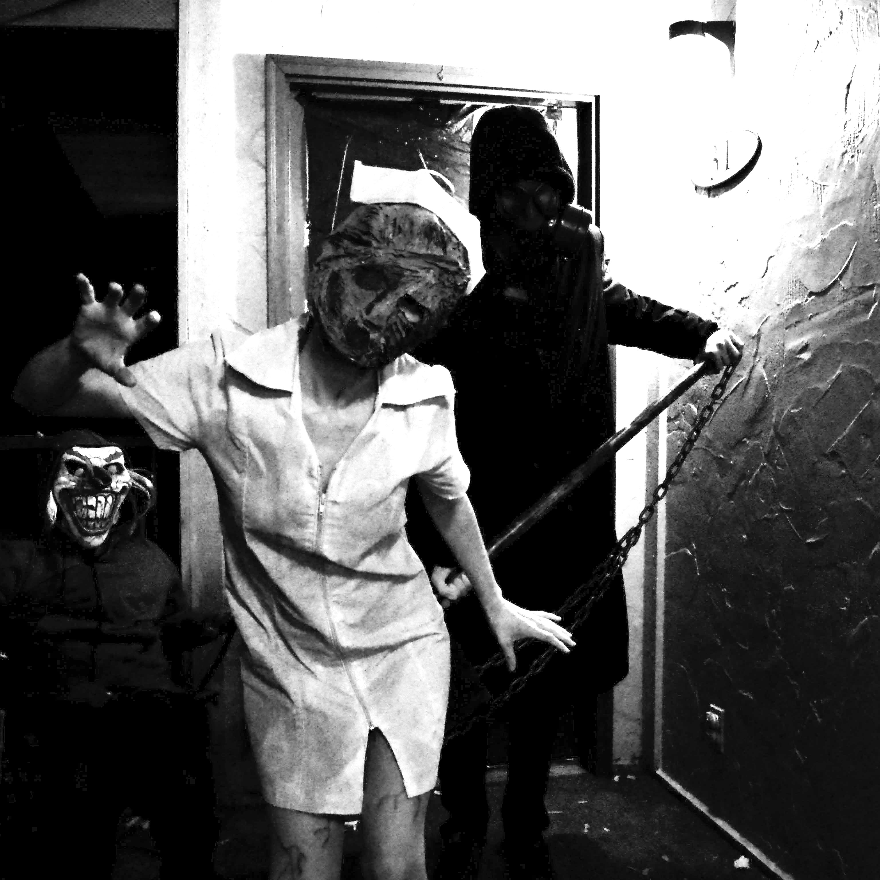 This is a Silent Hill nurse I made for Halloween a few years ago. It